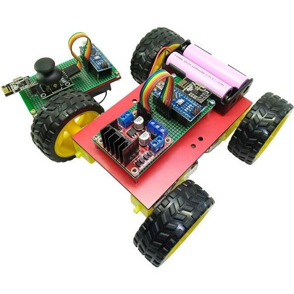 تصویر کیت رباتیک آوات روبو مدل کنترل از راه دور بی سیم