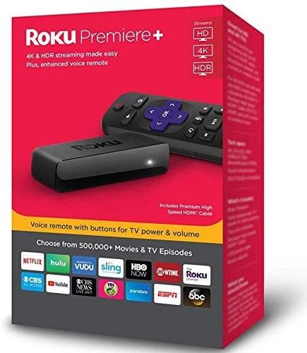 تصویر پخش کننده پخش کننده جریان Roku Premiere 4K HDR