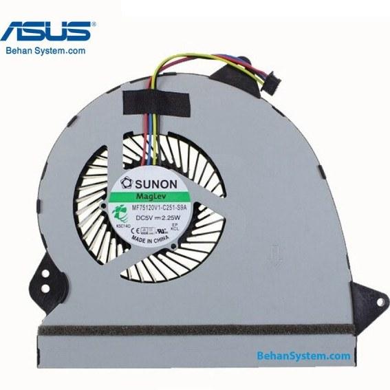 تصویر فن پردازنده لپ تاپ ASUS ROG GL552 / GL552J / GL552V