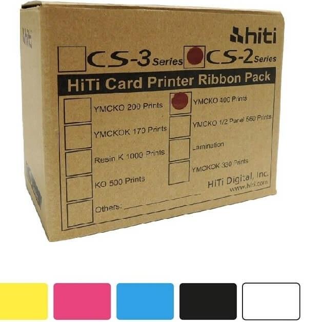 ریبون اصلی تمام رنگی پرینتر هایتی مدل Hiti CS-e200