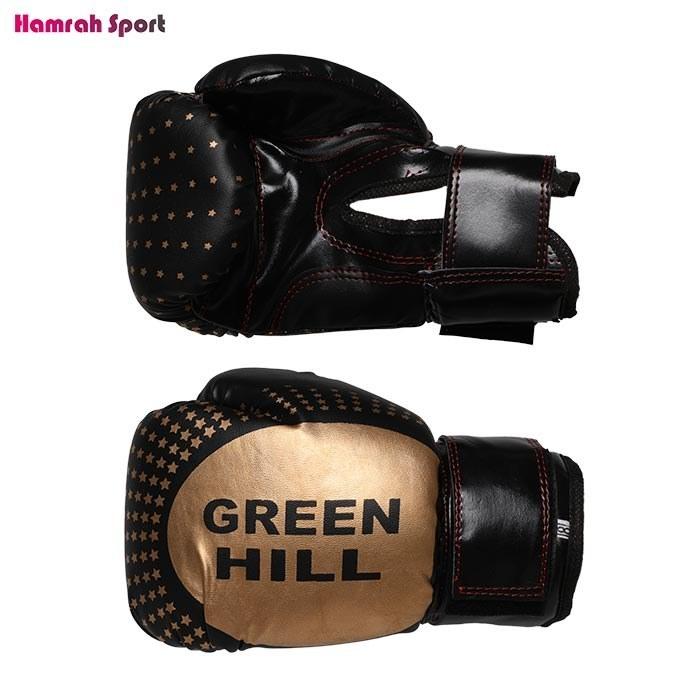 تصویر دستکش بوکس گرین هیل (GREEN HILL) فوم سایز 8 - ایرانی