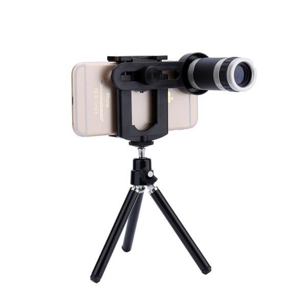 تصویر لنز دوربین موبایل ۸X