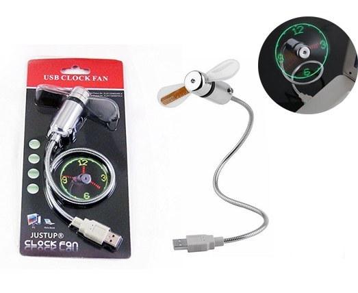 پنکه ساعت نشان USB Clock Fan