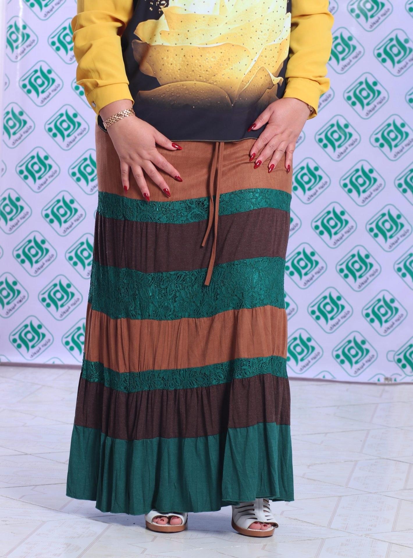 تصویر دامن مجلسی زنانه ترک سوییت کد 1048