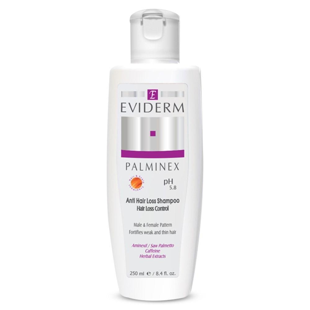 عکس شامپو پالمینکس اویدرم (ضد ریزش) Eviderm Palminex Anti Hair Loss Shampoo شامپو-پالمینکس-اویدرم-ضد-ریزش