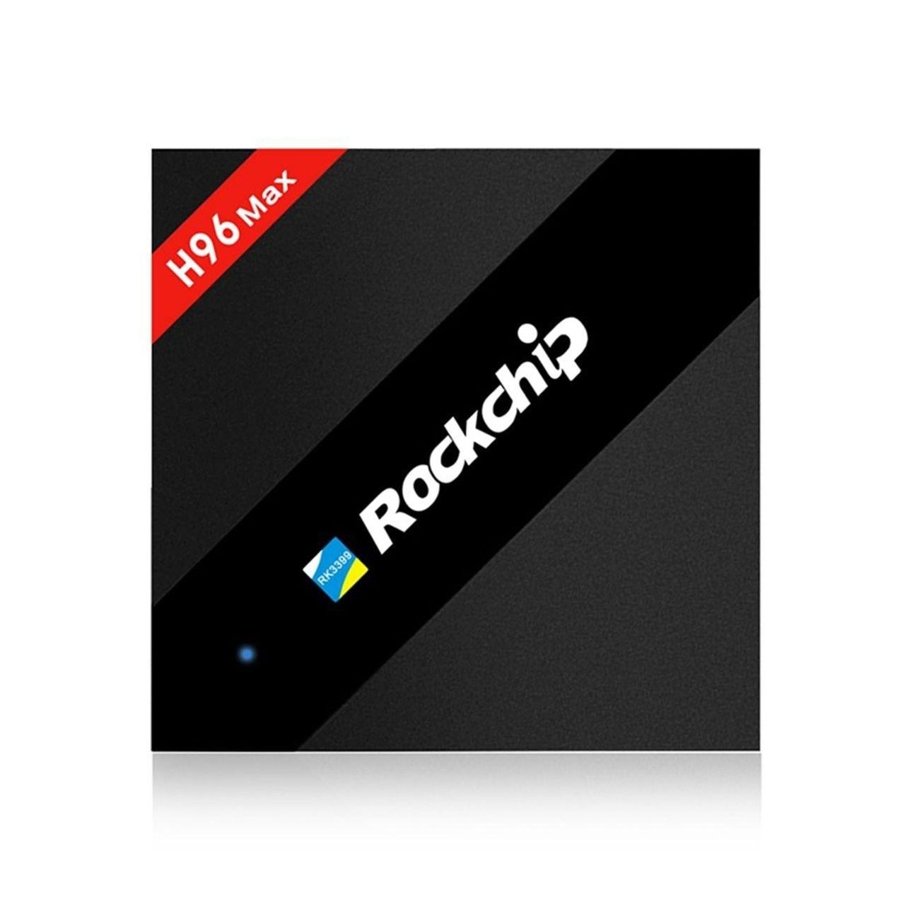 تصویر مینی کامپیوتر اندروید H96 Max Rockchip RK3399