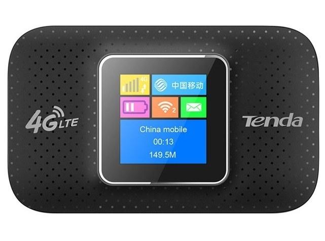 تصویر مودم روتر قابل حمل 4جی تندا مدل 4 جی 185 مودم روتر 3G/4G تندا 4G185 4G LTE Advanced Mobile Wireless Hotspot