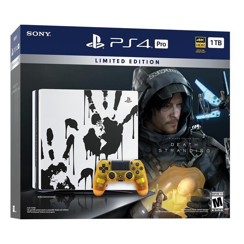 تصویر کنسول بازی پلی استیشن 4 پرو PS4 Pro Death Stranding Bundle ظرفیت یک ترابایت