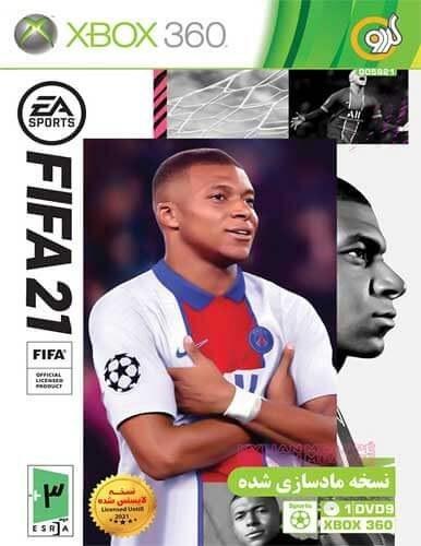 تصویر بازی FIFA 21 کنسول ایکس باکس XBOX 360