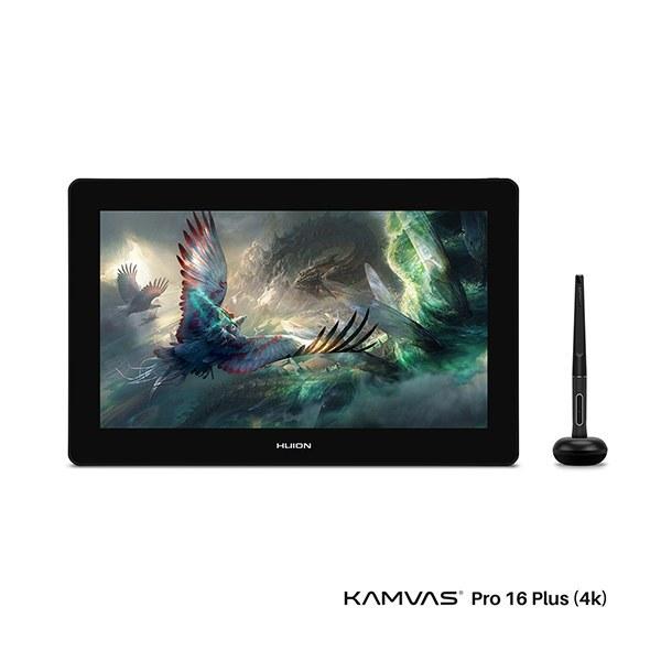 تصویر قلم نوری Huion Kamvas Pro 16 Plus (4K) تبلت گرافیکی هویون کامواس پرو 16