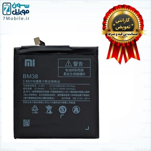 تصویر باتری مدل BM38 مناسب برای گوشی شیائومی Mi 4s Battery Model BM38 Suitable for Xiaomi Mi 4s