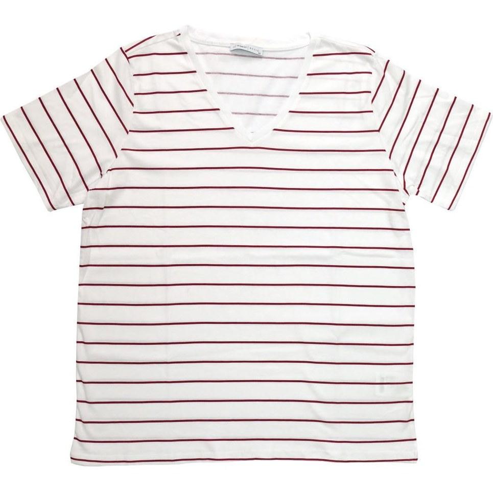 تصویر تی شرت آستین کوتاه زنانه ال سی وایکیکی مدل S18193Z8-E48