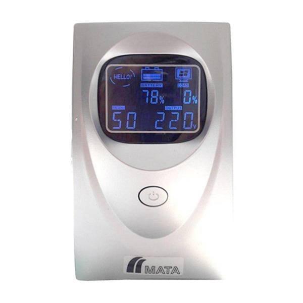 یو پی اس ماتا مدل PCA 650 LCD ظرفیت 650VA باتری داخلی | MATA PCA 650 VA LCD UPS 650VA Internal Battery