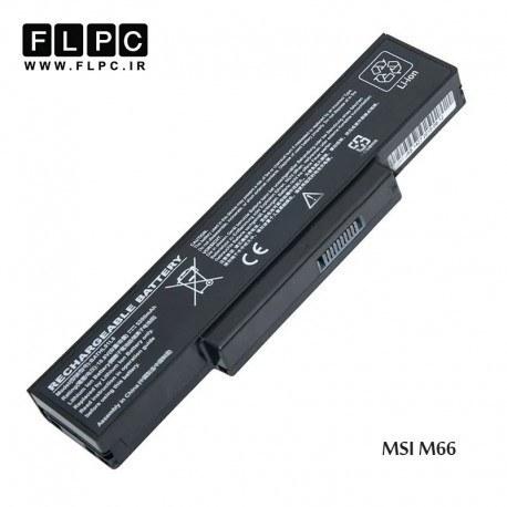 باطری لپ تاپ ام اس آی MSI laptop battery M66 -6cell