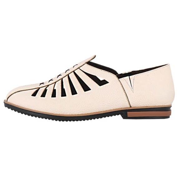 کفش زنانه طرح مثلث کد 157011609 |