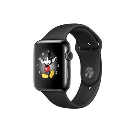 ساعت مچی هوشمند اپل واچ ۲ نایک پلاس ۴۲ میلیمتر با بند Black/Cool Gray Nike