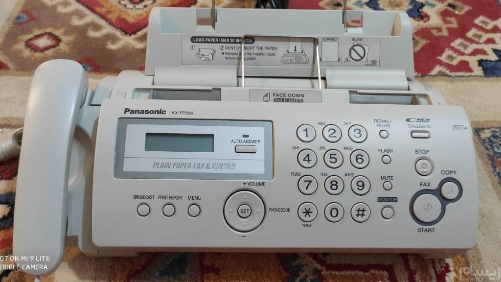تلفن فکس پاناسونیک آکبند و صفر
