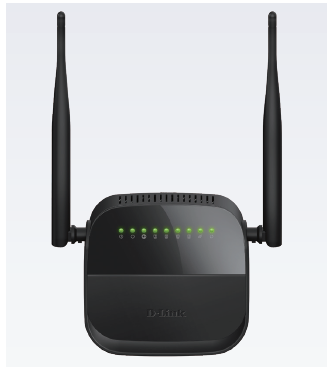 Dlink  DSL-124 Wireless N300 ADSL2+ Modem Router