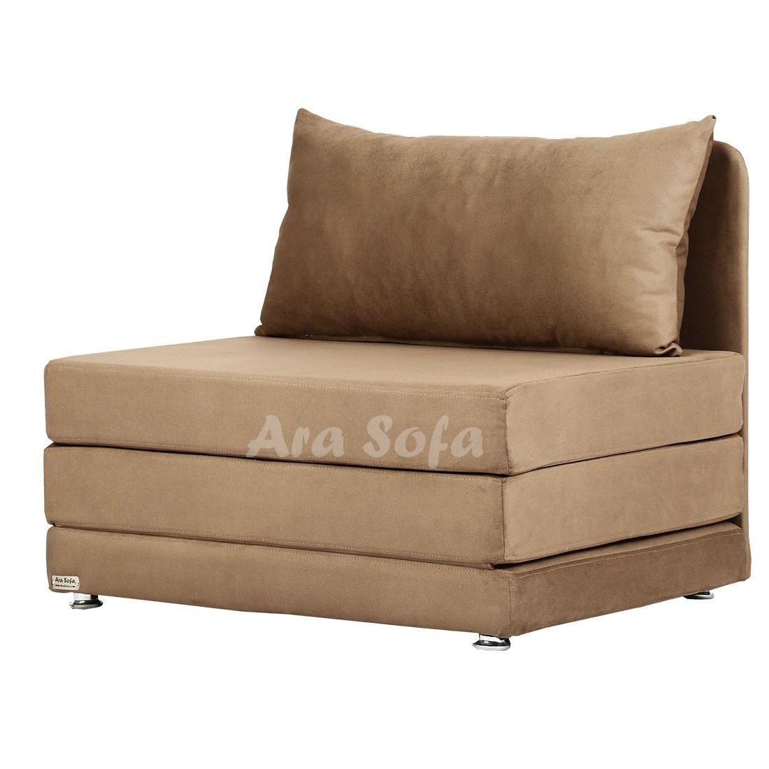تصویر مبل تختخواب شو یک نفره آرا سوفا مدل A10