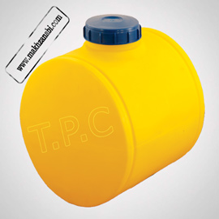 تصویر مخزن سمپاش 100 لیتری گرد زرد