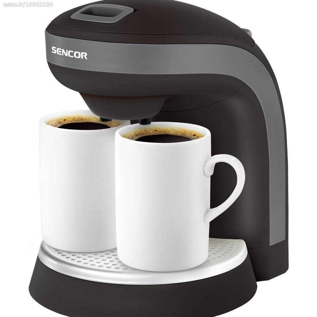 تصویر قهوه ساز سنکور 350 وات SCE 2000BK Sencor SCE 2000BK Sencor Coffee Maker 350w