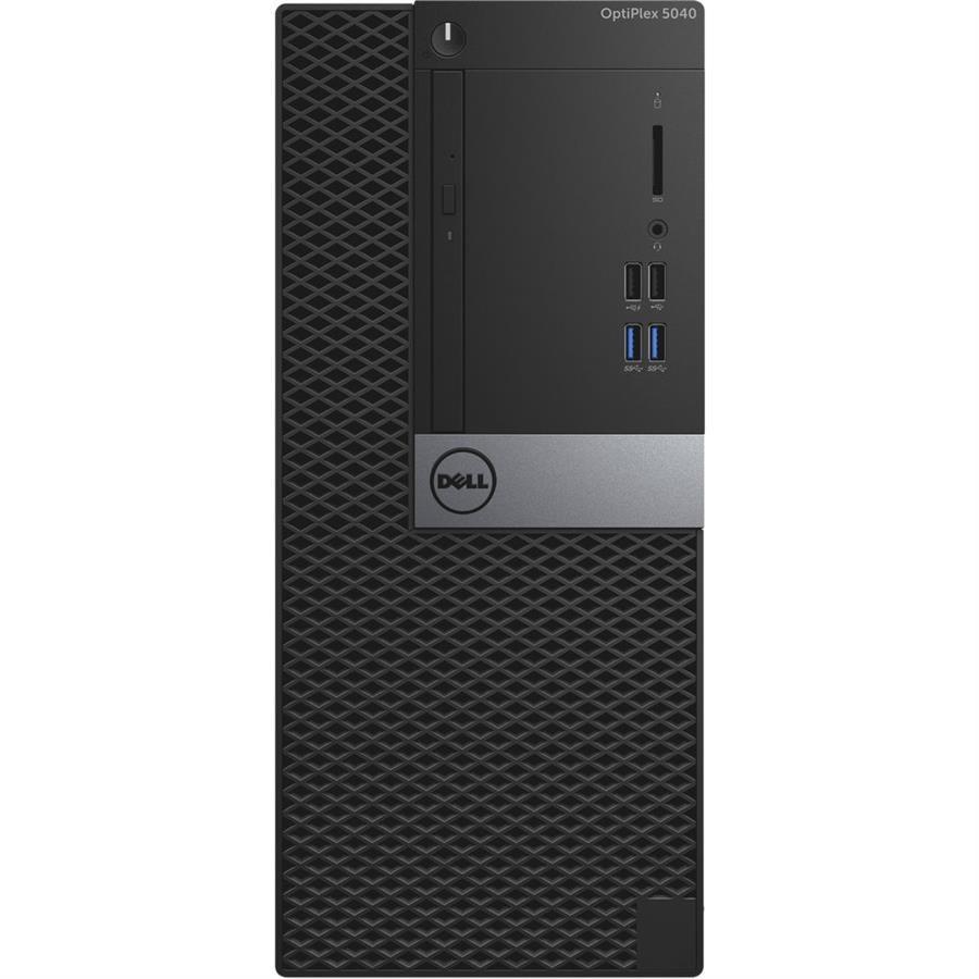 تصویر کامپیوتر دسکتاپ دل مدل 5040 ام تی با پردازنده i5 کیس آماده و نیمه آماده دل OptiPlex 5040 MT Core i5 4GB 500GB Intel Desktop Computer