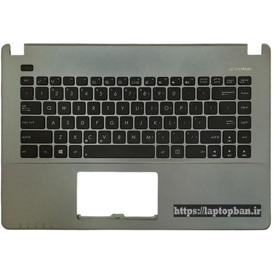 کیبرد لپ تاپ ایسوس Asus X450 مشکی با قاب C نوک مدادی