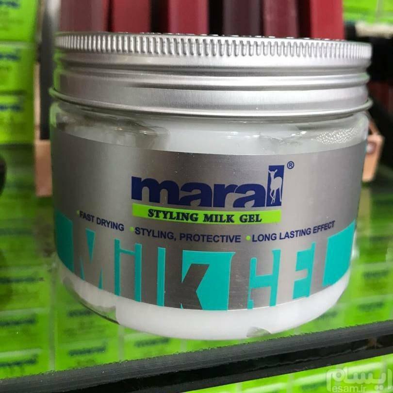 عکس میلک ژل حالت دهنده مارال حجم 300 میلی لیتر Maral Hair Styling Milk Gel-300ML میلک-ژل-حالت-دهنده-مارال-حجم-300-میلی-لیتر