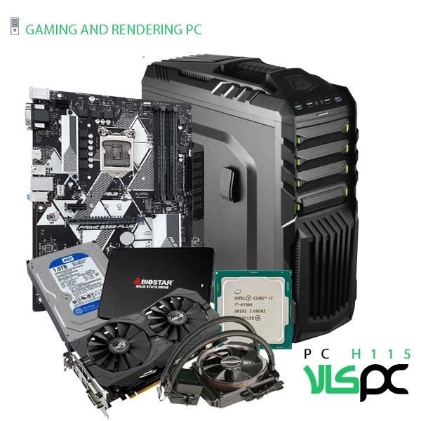 تصویر سیستم گیمینگ / رندرینگ / طراحی و مهندسی H115