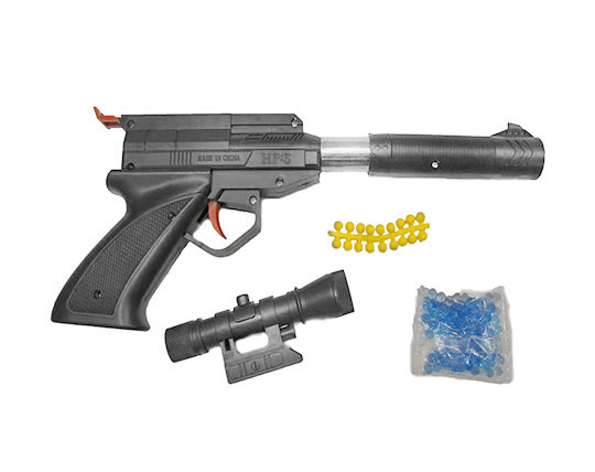 اسباب بازی تفنگ ژله ای ساچمه ای مدل 305