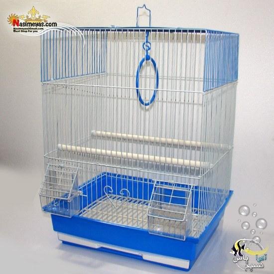 قفس پرنده سفید آبی کد A405 دایانگ | Da Yang bird cage