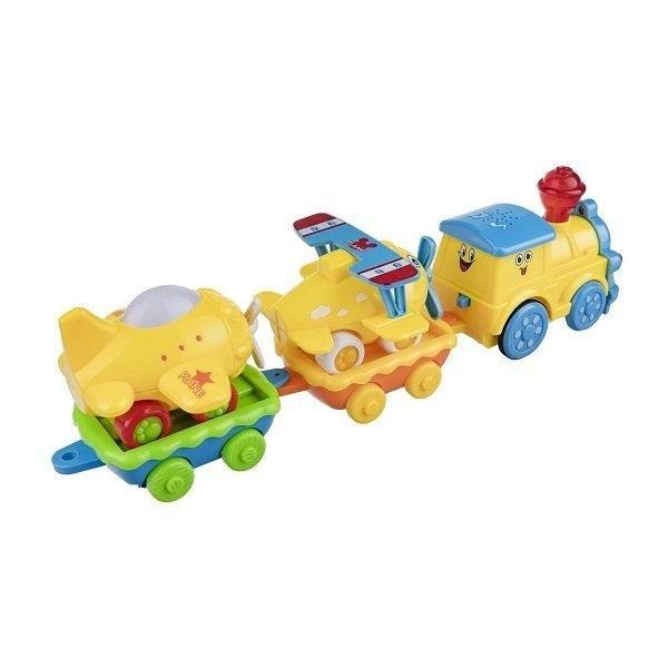 قطار نشکن بازی کودک Happy cartoon