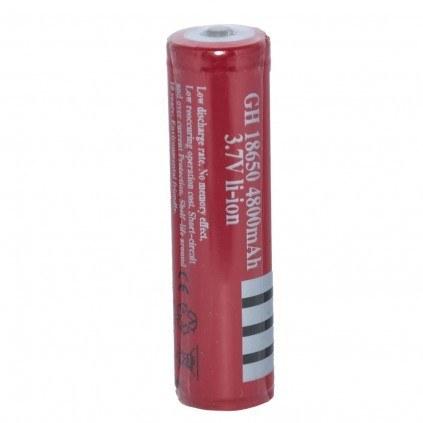 تصویر باتری لیتیوم یون قابل شارژ اولترا فایت مدل 18650