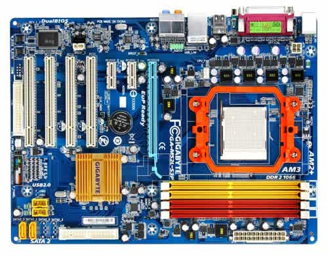 تصویر Main AMD Support DDR2 CPU AMD X2