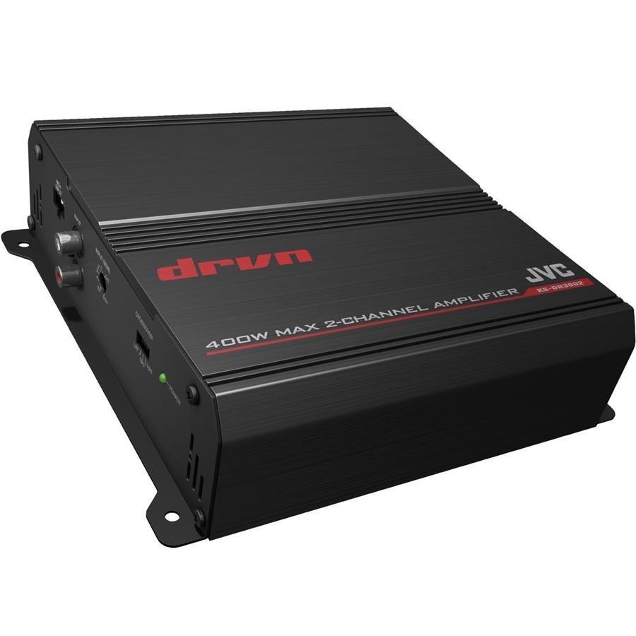 تصویر آمپلی فایر خودرو جی وی سی مدل KS-DR3002 دو کاناله JVC KS-DR3002 2-Channel Car Amplifier