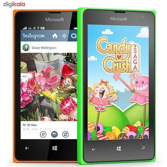 img گوشي موبايل مايکروسافت لوميا 435 دو سيم کارته Microsoft Lumia 435