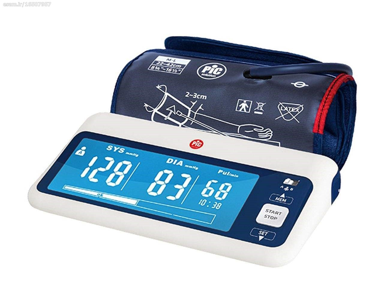main images فشارسنج دیجیتال پیک سلوشن help RAPID PiC Solution help RAPID Blood Pressure Monitor