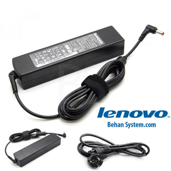 تصویر شارژر لپ تاپ لنوو IdeaPad مدل Z470 (نمونه اصلی دارای شش ماه گارانتی تعویض)