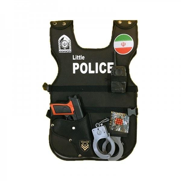 جلیقه پلیس کودک با لوازم مدل 7533