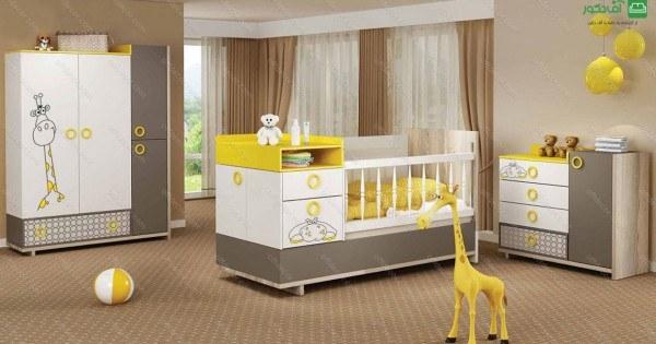 تصویر تخت خواب نوزاد نوجوان تسکا