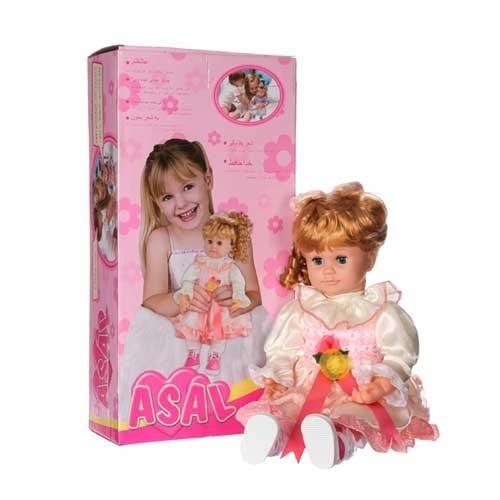 تصویر عروسک دخترانه سخنگو عسل