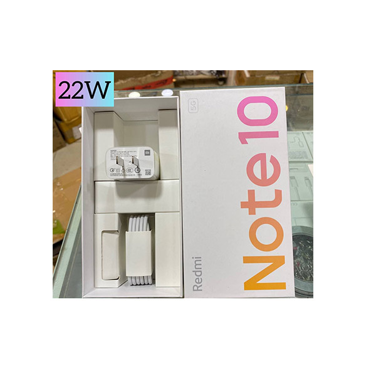 تصویر شارژر دیواری اورجینال شیائومی مدل Note10-5G به همراه کابل