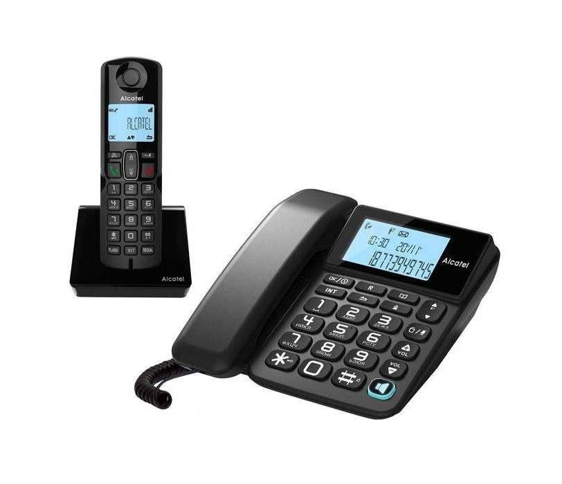 تصویر Alcatel S250 Cordless Phone تلفن بی سیم آلکاتل مدل S250