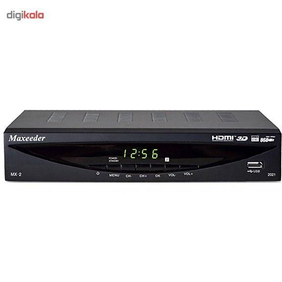 تصویر گیرنده دیجیتال مکسیدر مدل MX-2 2021 Maxeeder MX-2 2021 DVB-T