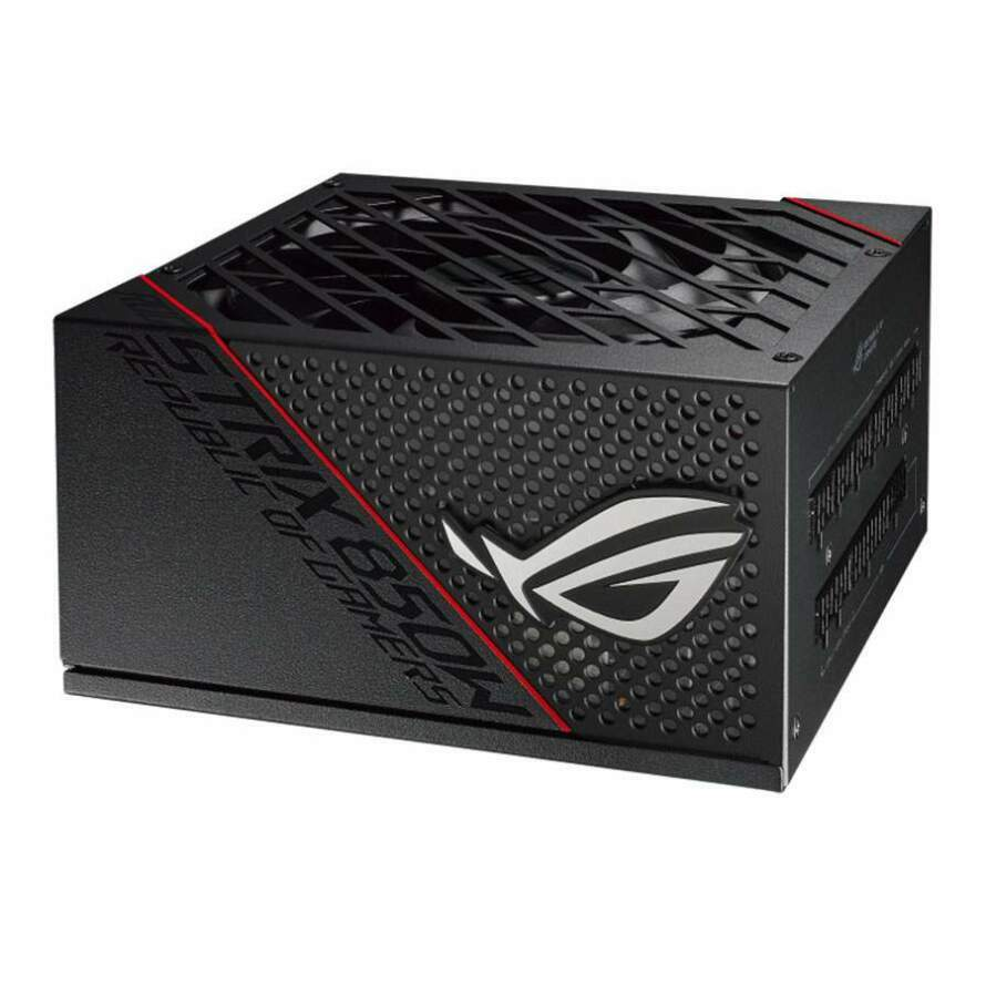 تصویر پاور ایسوس 850 وات ROG STRIX 850G ASUS ROG STRIX 850G 80Plus Gold Gaming Power Supply