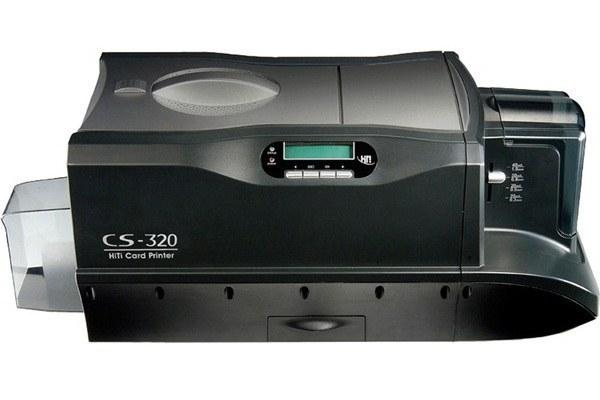 تصویر پرینتر چاپ کارت هایتی مدل سی اس 320 پرینتر چاپ کارت PVC هایتی CS-320 Card Printer