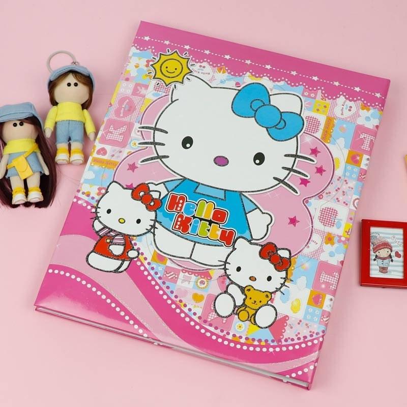 تصویر آلبوم عکس چسبی شجره کودک طرح KITTY Kitty Picture Album