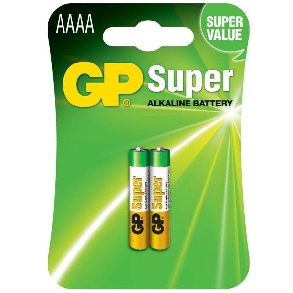 باطری جی پی AAAA (GP) آلکالاین 2 عددی