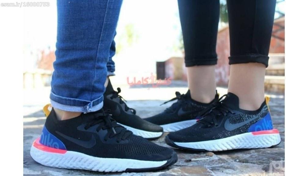 کتونی نایک ری اکت | کتونی نایک ست زنانه و مردانه رویه جورابی کف دوخت قابل شستشو فوق العاده سبک و راحت