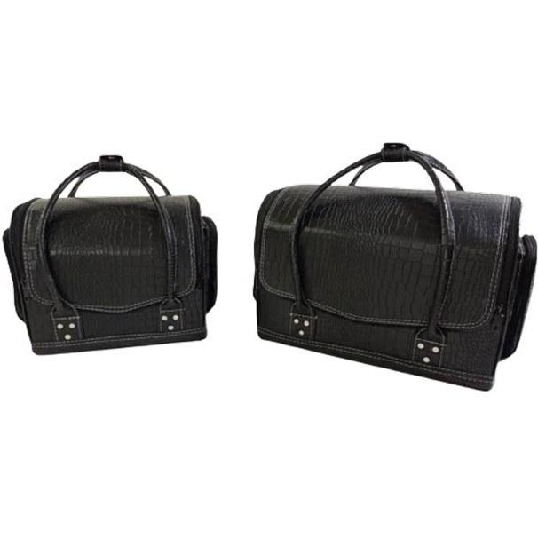 تصویر کیف مخصوص لوازم آرایشی طرح دار